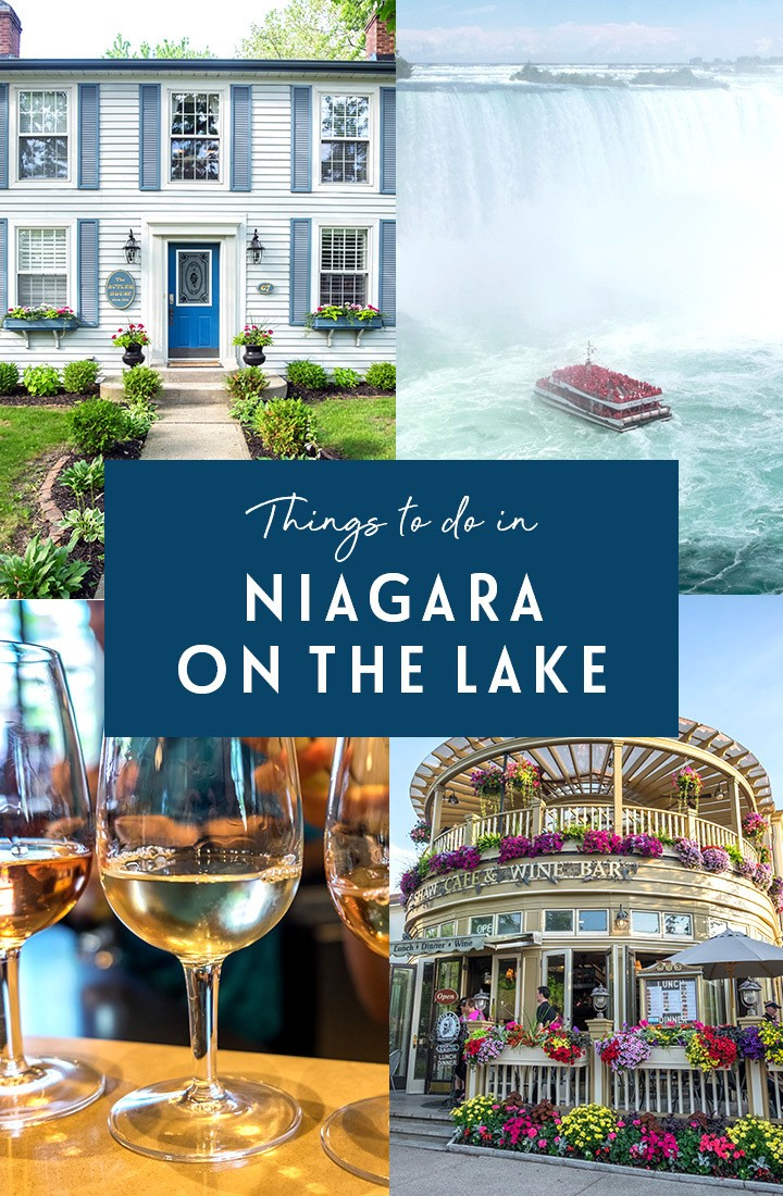 Top things to do in Niagara on the Lake, Canada, a pretty historic lakeside town that's a perfect base to explore Niagara Falls and Niagara wine region. #Niagara #Canada #ExploreCanada #NOTL