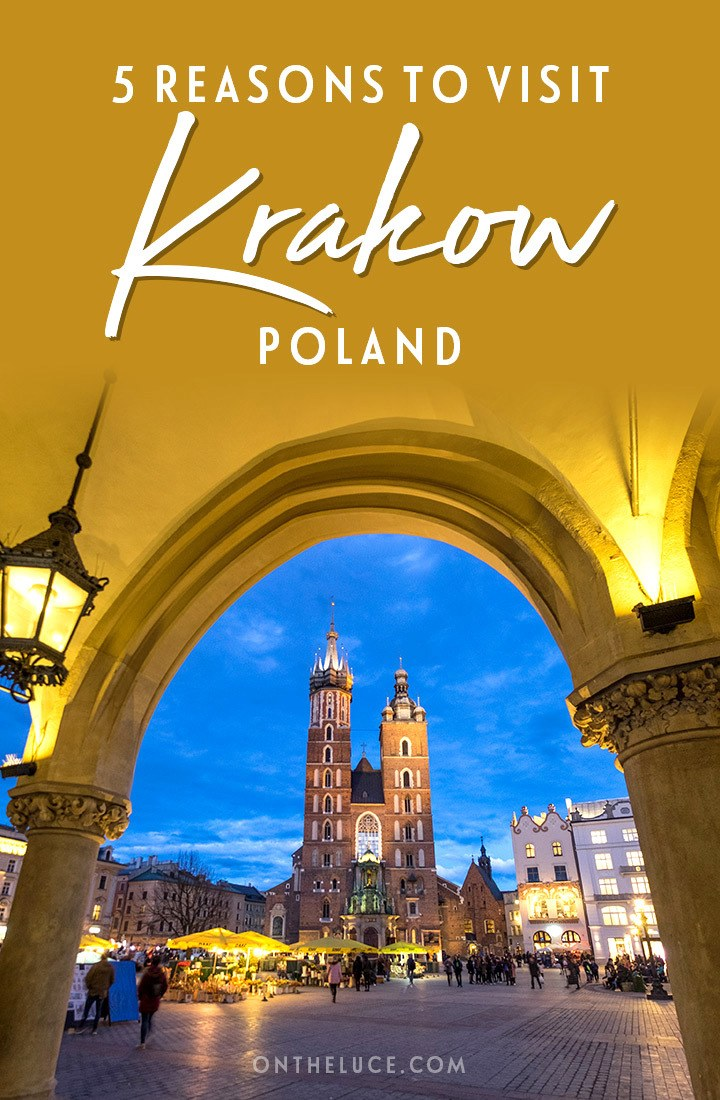 Why you should visit Krakow, Poland – a great European city break, with beautiful architecture, fascinating history, delicious food and value for money #Krakow #Kraków #Poland #Europe #citybreak