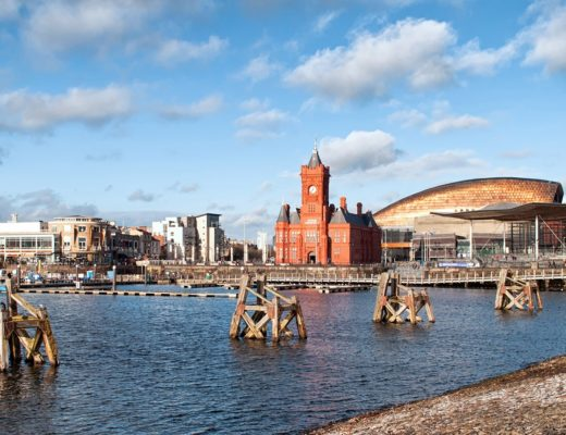 Cardiff Bay in Wales