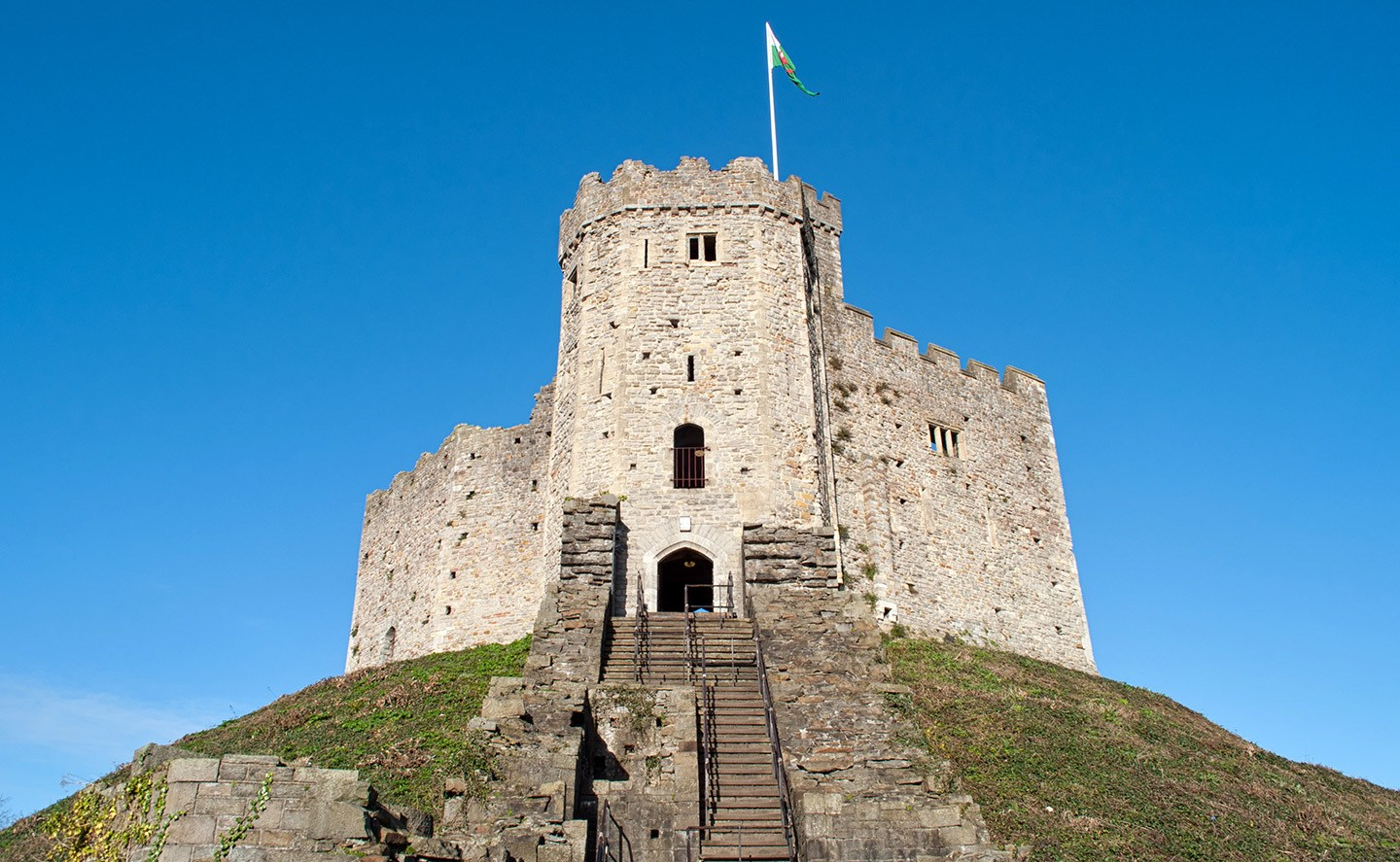 Cardiff Castle, Wales weekend