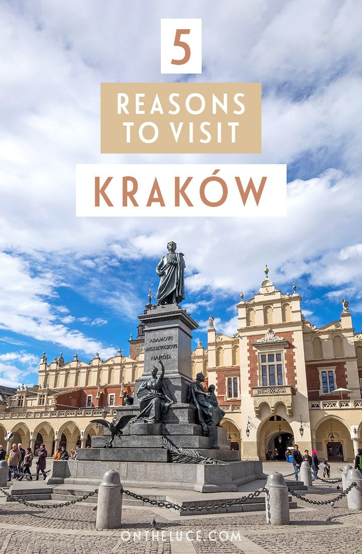 5 reasons to visit Krakow, Poland – why this Eastern European city makes a brilliant city break #Krakow #Kraków #Poland #Europe #citybreak