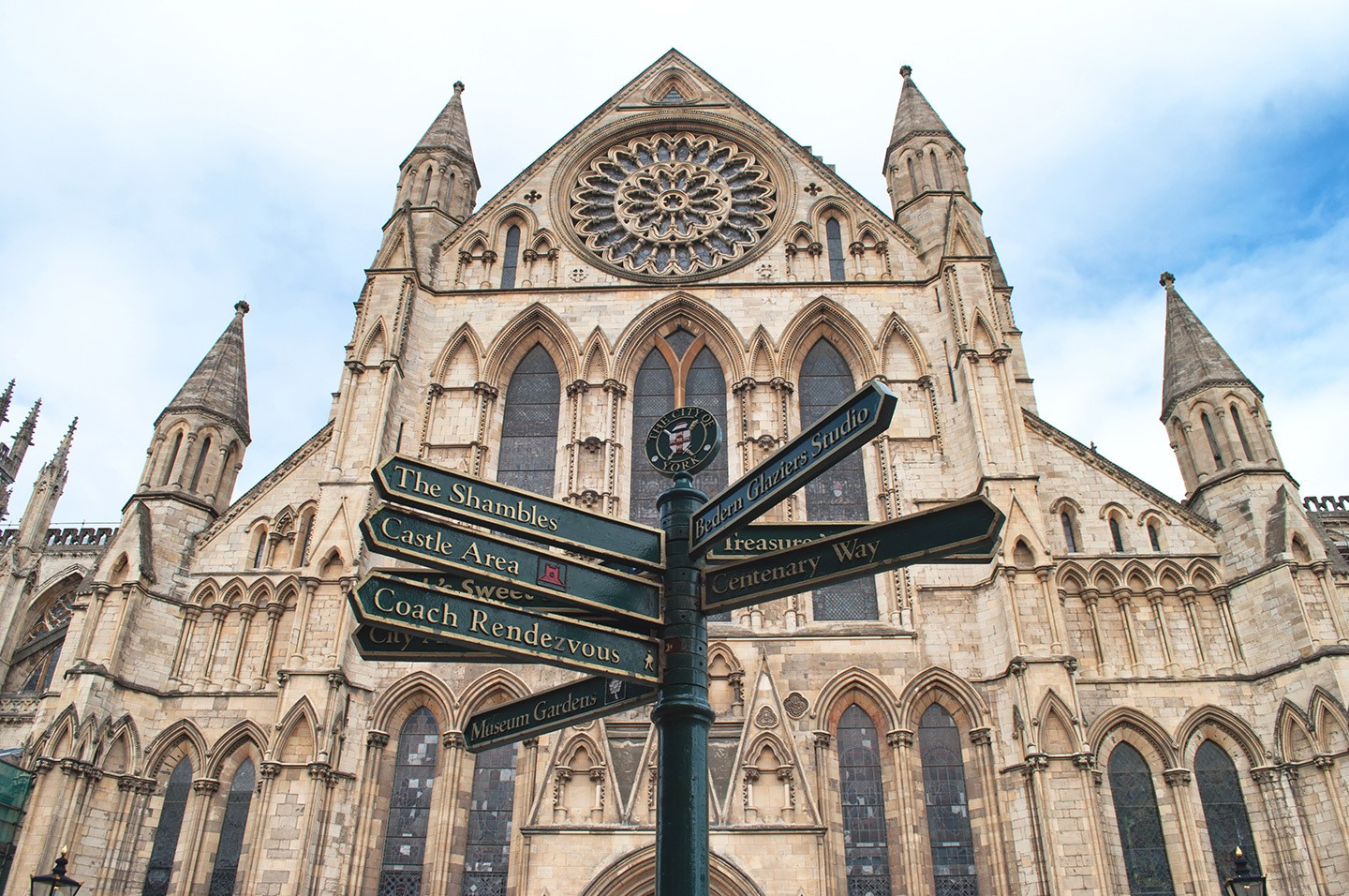 The exterior of York Minster