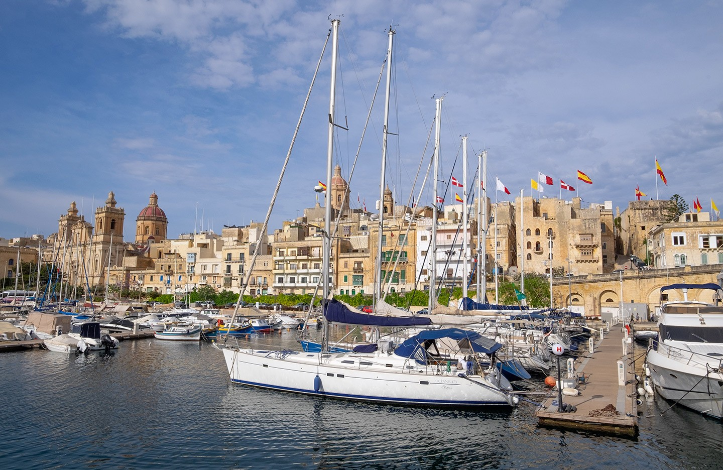 Boat trip to the Three Cities, Valletta, Malta