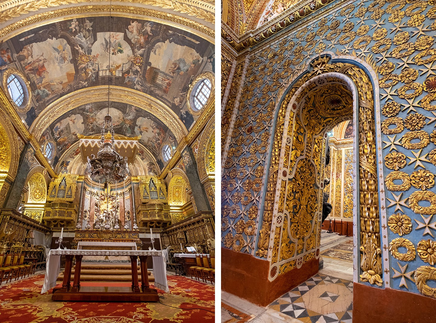 St John's Co-Cathedral – one of the top things to do in Valletta, Malta