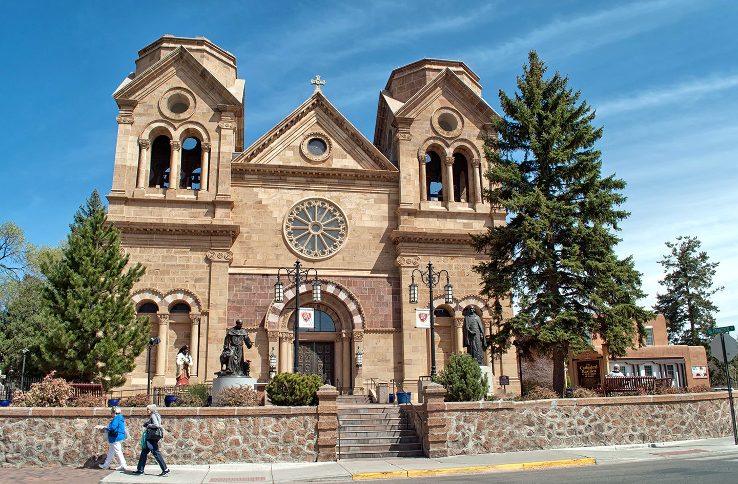 Cathedral Basilica of Saint Francis in Santa Fe, New Mexico
