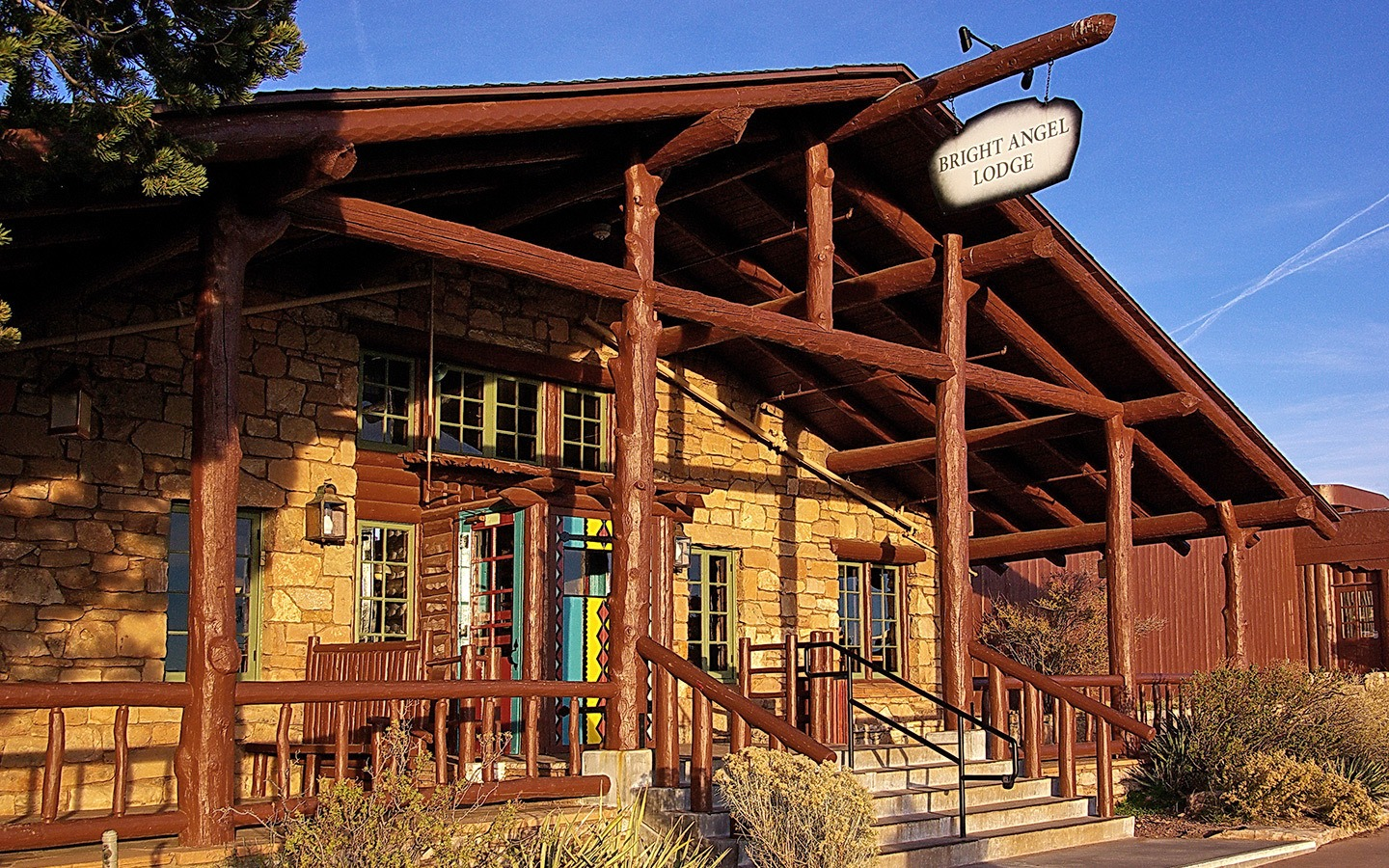 Bright Angel Lodge, Grand Canyon hotel