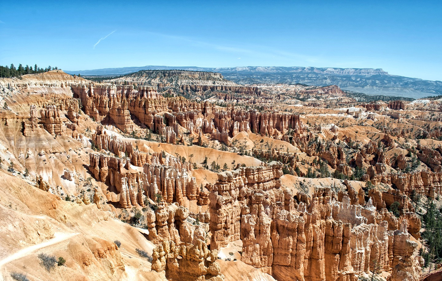 The Rim Trail at Bryce Canyon National Park, Utah