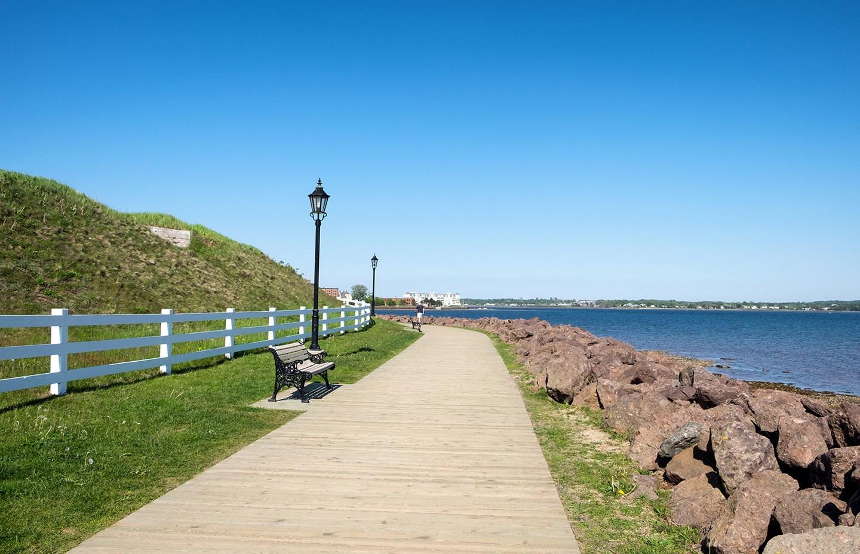 Charlottetown boardwalk, PEI Canada