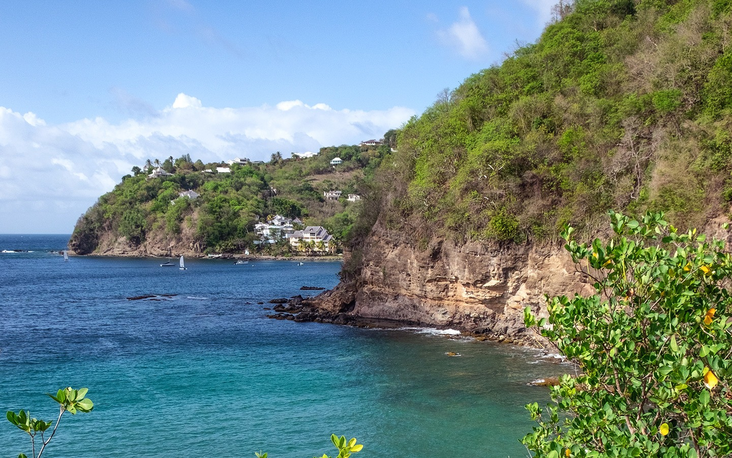 Along the coast from Cap Maison, St Lucia