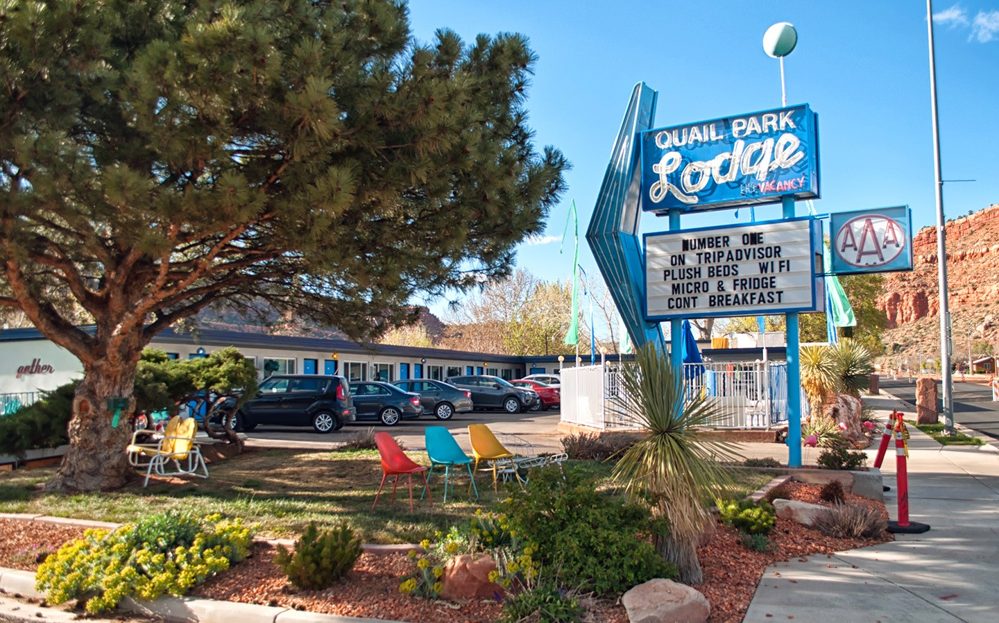 Quail Park Lodge motel in Kanab, Utah