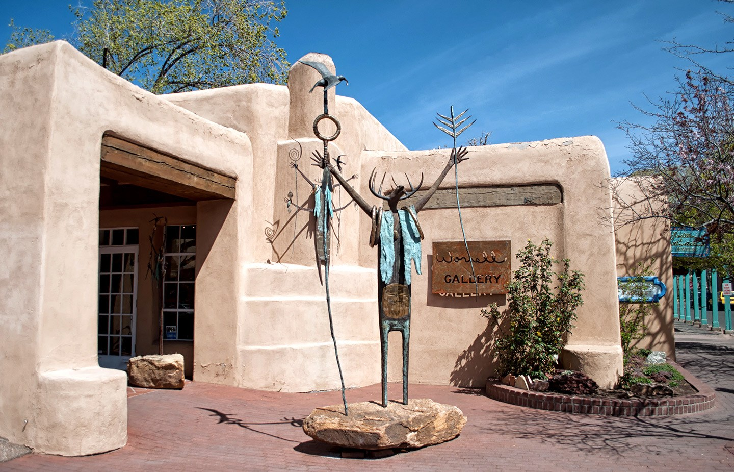 Art gallery in Santa Fe, New Mexico