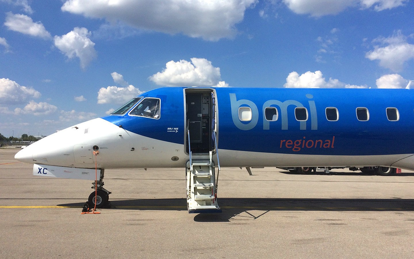 bmi regional flight to Munich