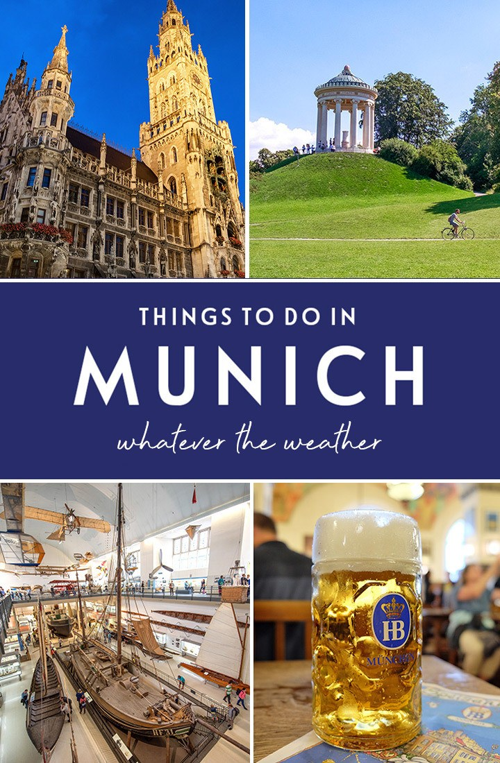 How to spend a weekend in Munich, Germany – whatever the weather, with the best things to do in Munich in the rain or in the sun. #Munich #Bavaria #weekend #Germany
