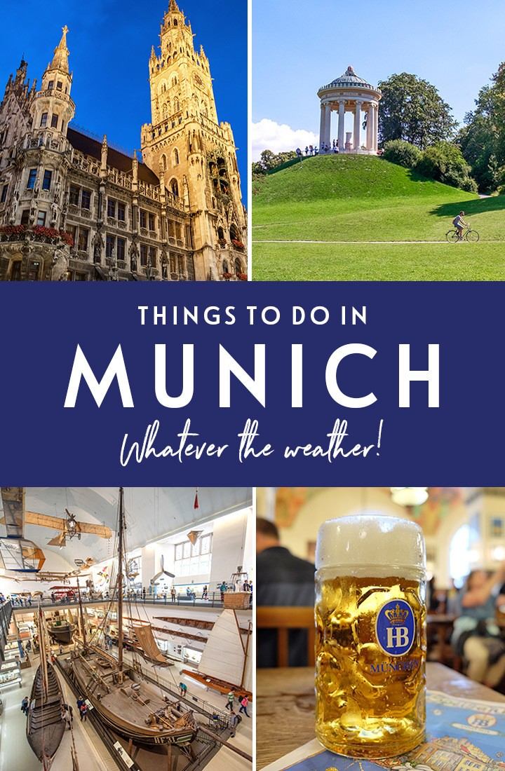 What to do on a weekend in Munich, Germany, whatever the weather – with the best things to see and do in the sun and the rain #Munich #Munchen #Germany #Bavaria