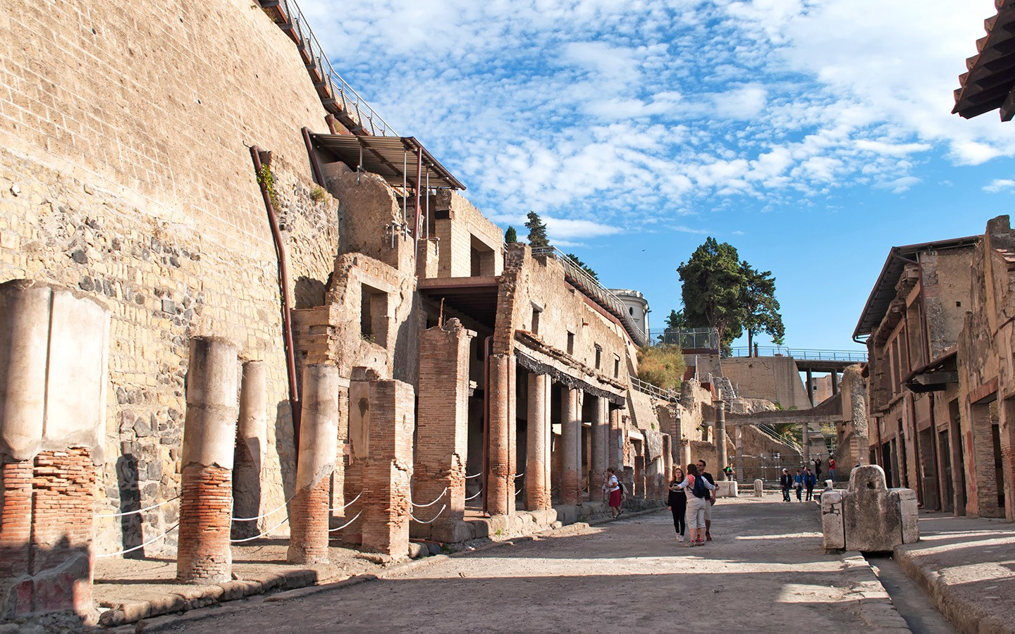 Roman city of Herculaneum, Italy
