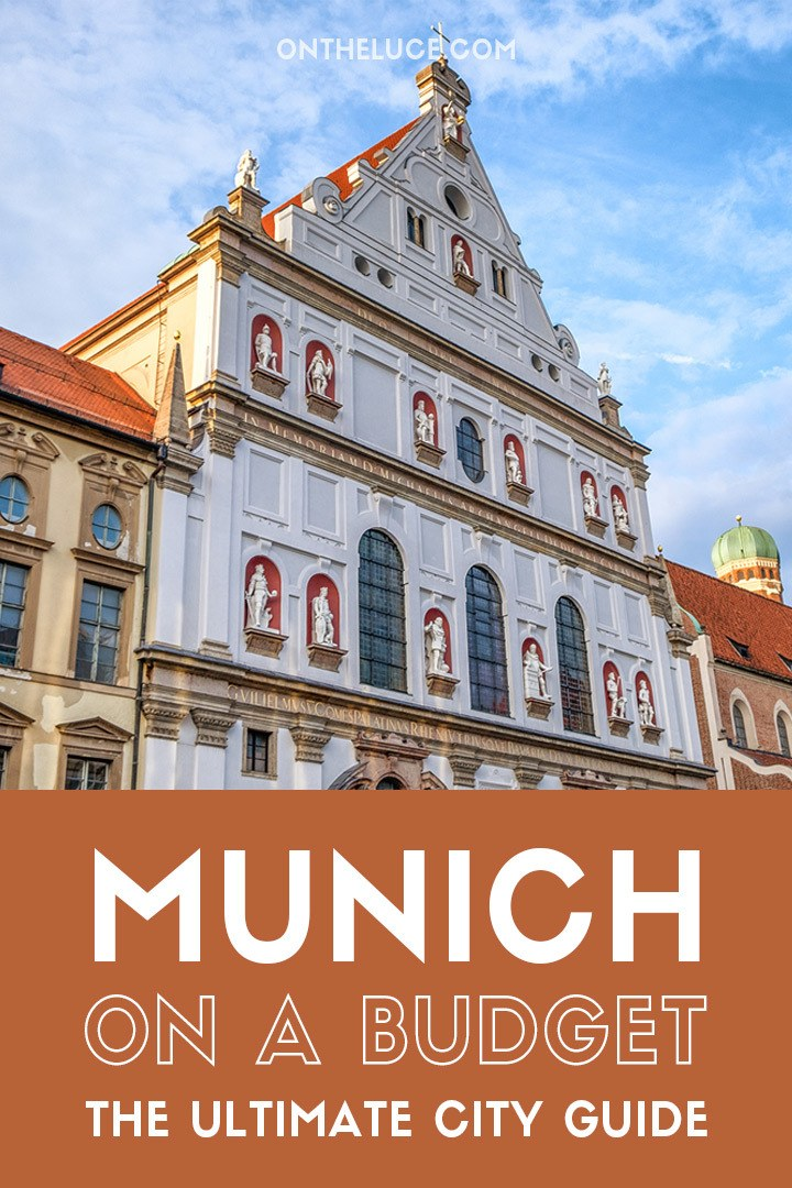 A budget city guide to Munich – money-saving tips to cut your Munich costs for sights, museums, food and travel #Munich #Munchen #Germany #budget #budgettravel #budgetMunich