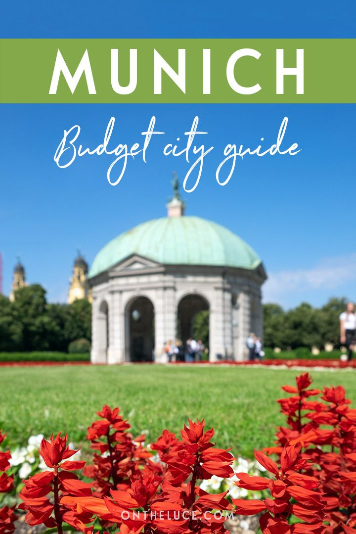A budget city guide to Munich, Germany – money-saving tips to cut your costs on sights, nights out, food and travel #Munich #Munchen #Germany #budget #budgettravel #budgetMunich