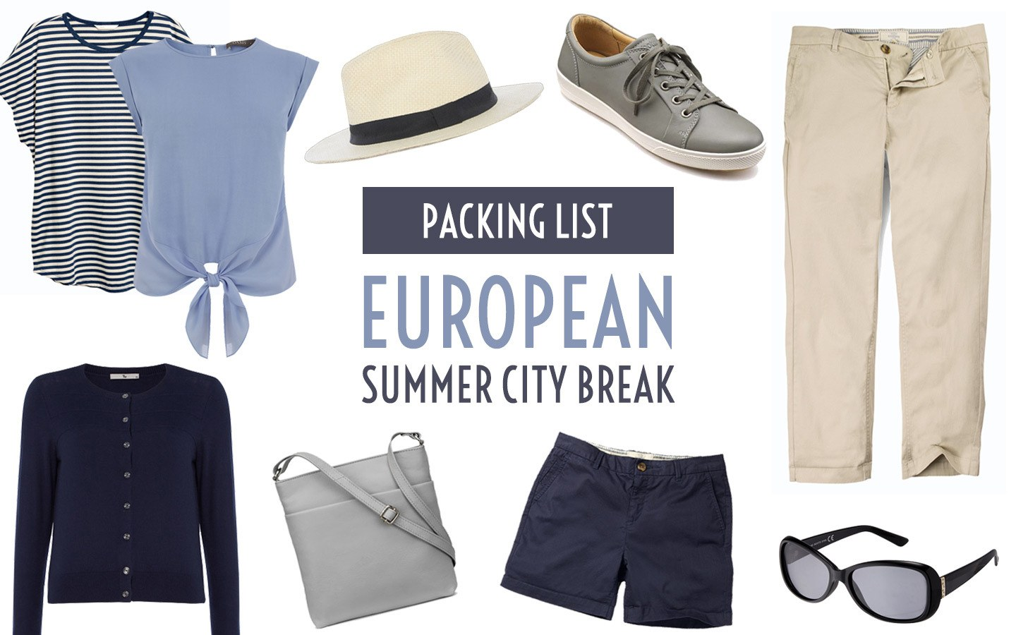 2ba8eb9a5f7 What to pack for a summer city break in Europe – On the Luce travel blog