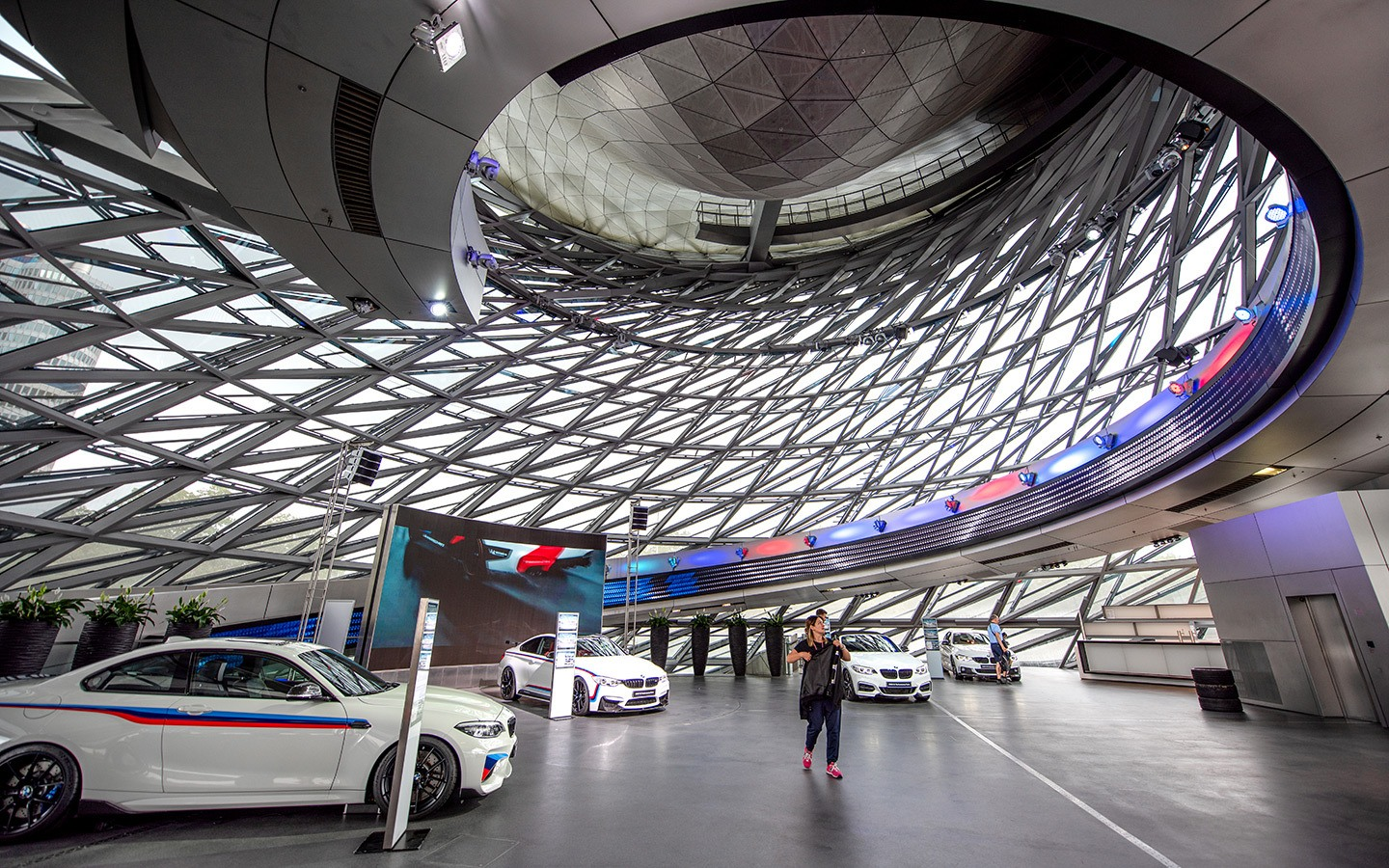 BMW Welt showroom in Munich, Germany