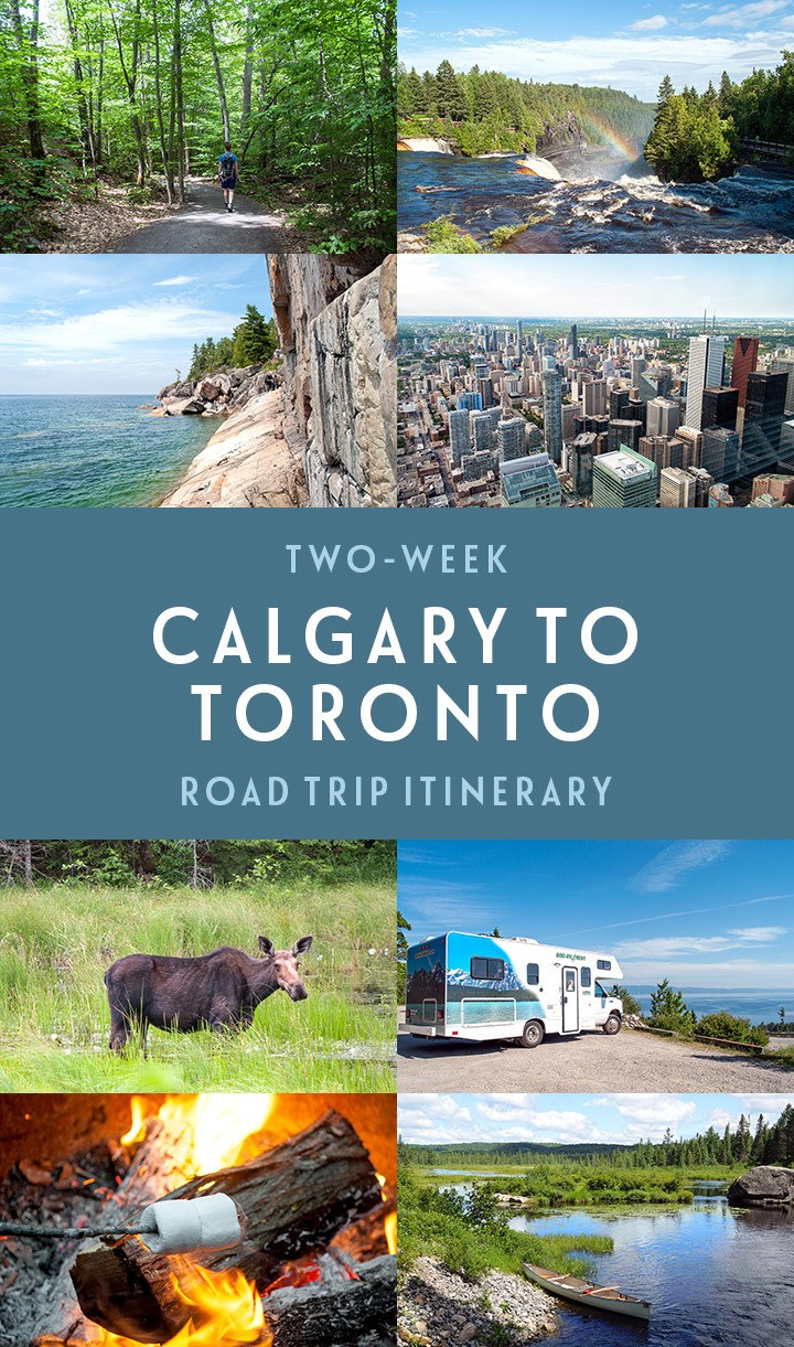 A road trip across the heart of Canada – the ultimate two-week Calgary to Toronto road trip itinerary, with what to see, do and where to stay along the way #Canada #roadtrip #ExploreCanada