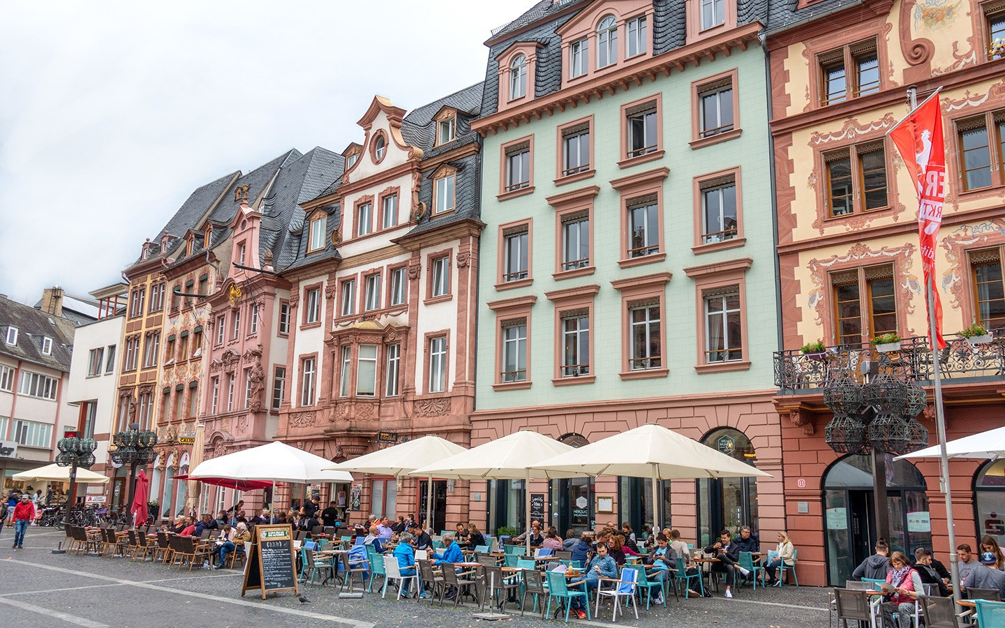 Mainz streets, Germany