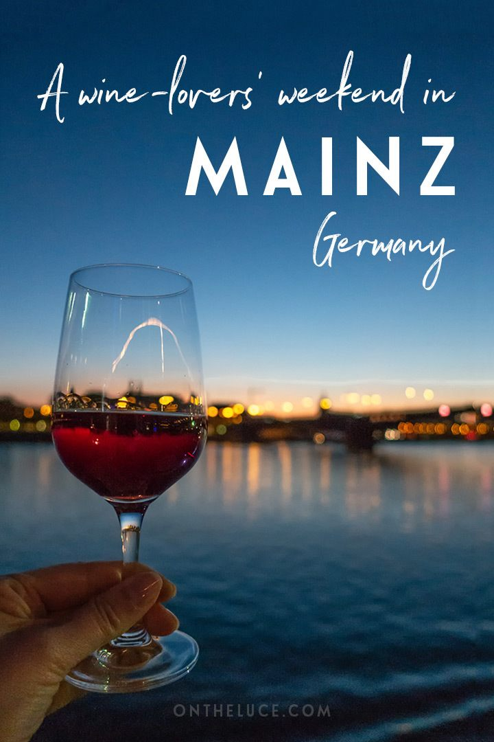 A wine-lovers' weekend break in Mainz, Germany, one of the Great Wine Capitals, a charming city that's home to the annual Mainzer Weinmarkt wine festival. #Mainz #Germany #GermanySimplyInspiring #wine #weekend #weekendbreak