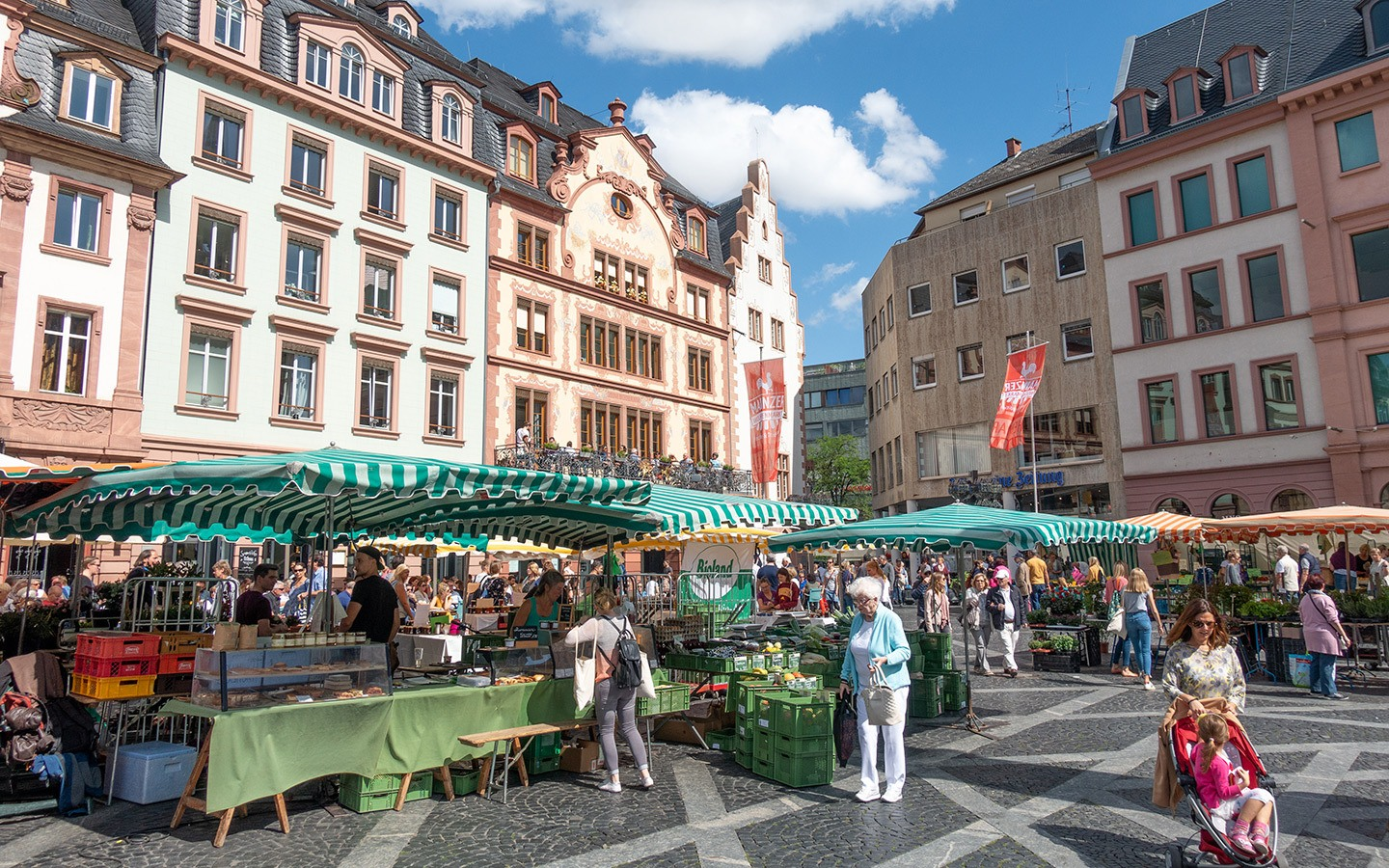 Mainz Farmers' Market, Germany