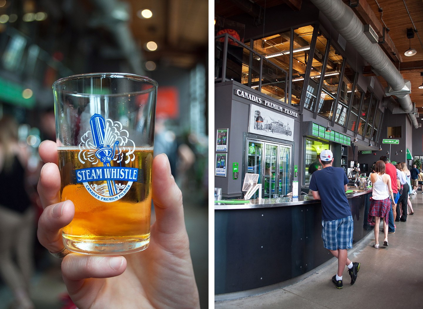 Steam Whistle Brewing in Toronto, Canada