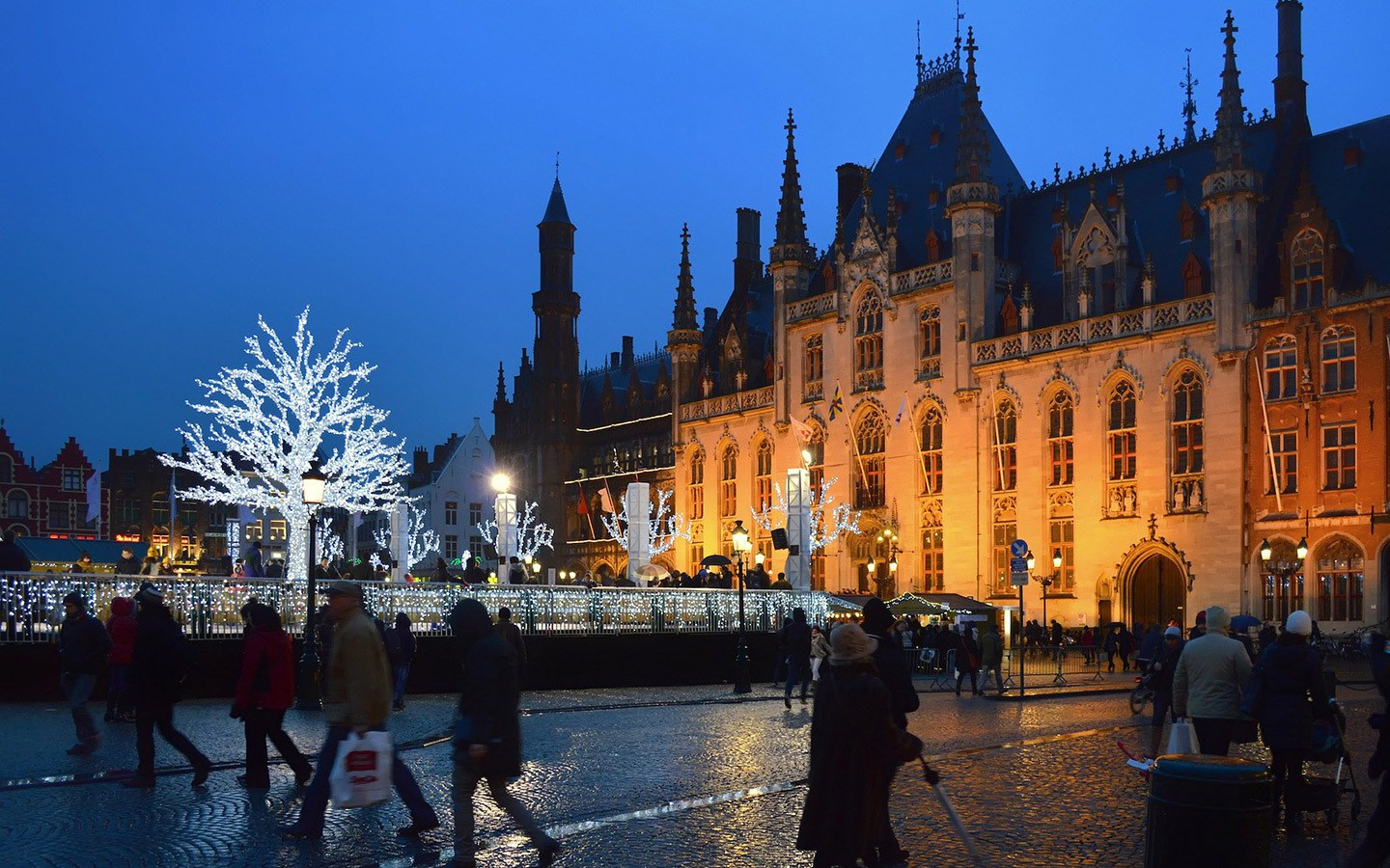 Winter weekend in Bruges