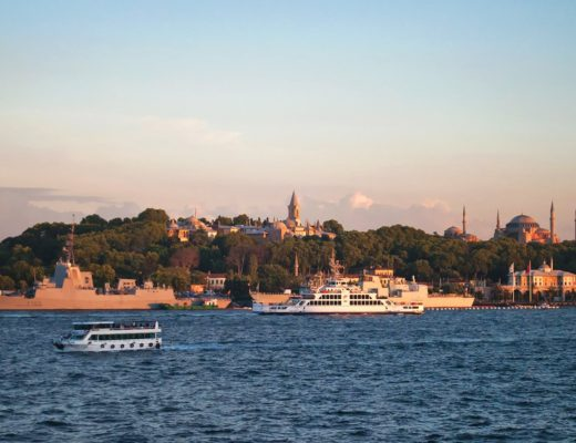 Sunset over Sultanahmet, Istanbul