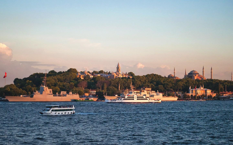 Sunset over Sultanahmet, Istanbul