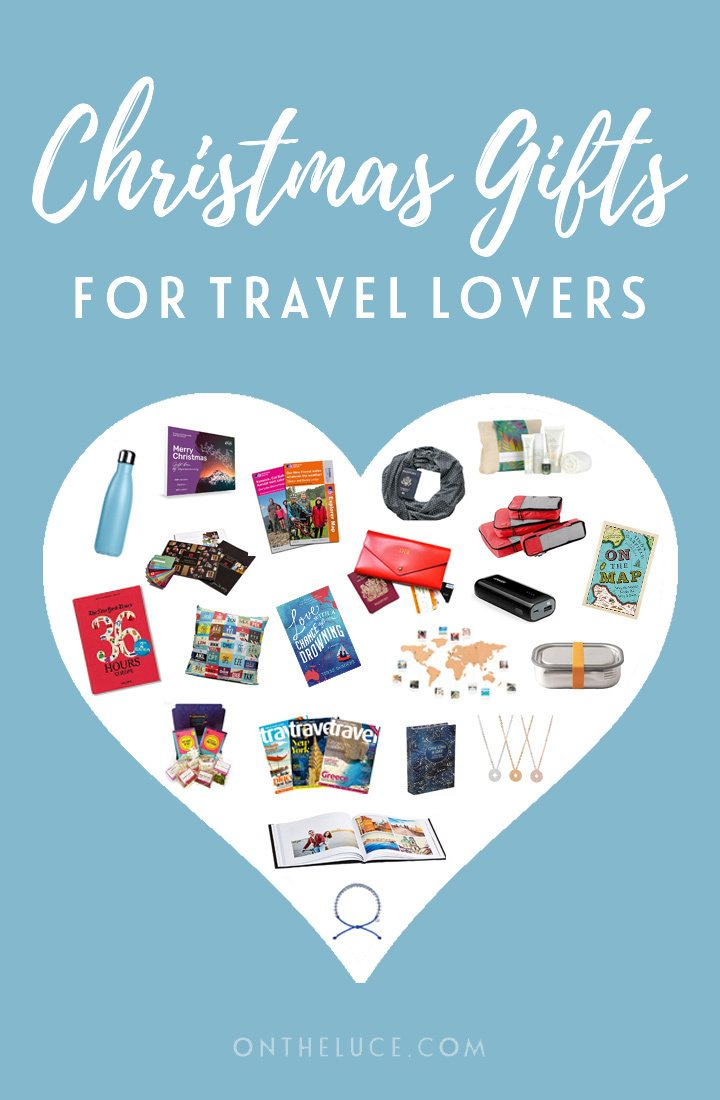 Over 20 affordable Christmas gifts for travel lovers in 2018, featuring sustainable travel kit, packing tools, home decor and wanderlust-inspiring books. #Christmas #giftlist #travelgifts