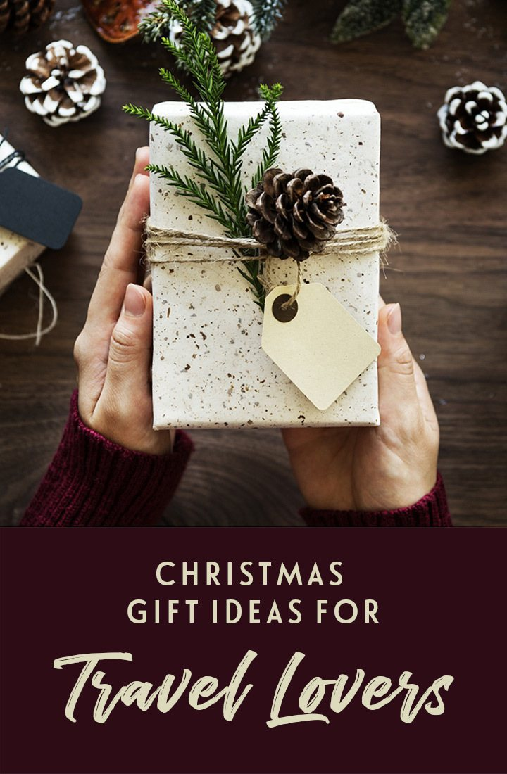 Over 20 affordable Christmas gifts for travel lovers in 2019, featuring sustainable travel kit, packing tools, home decor and wanderlust-inspiring books. #Christmas #giftlist #travelgifts