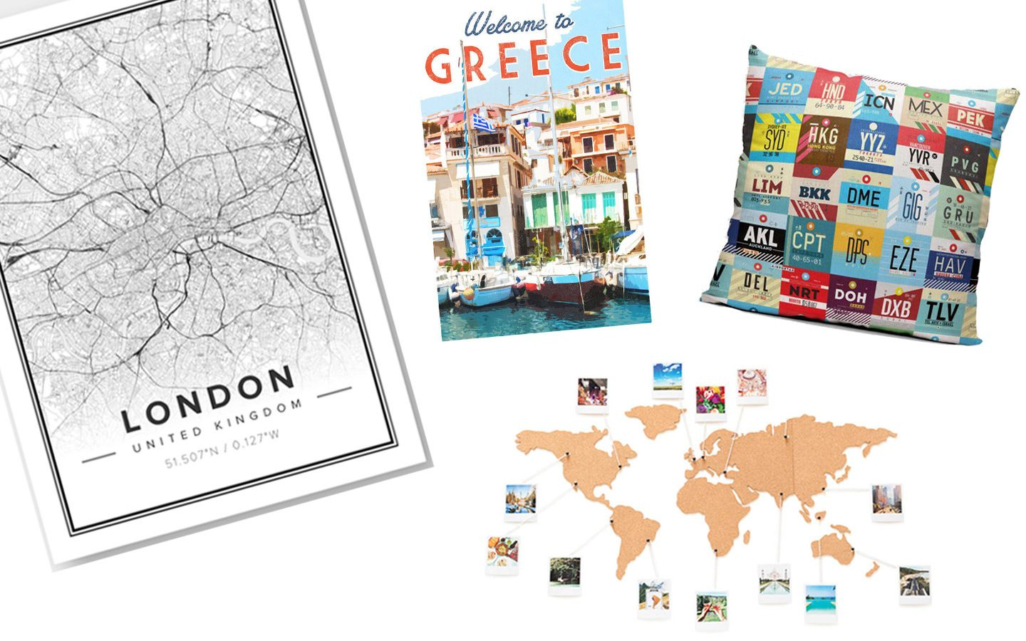 Travel home gifts for travel lovers