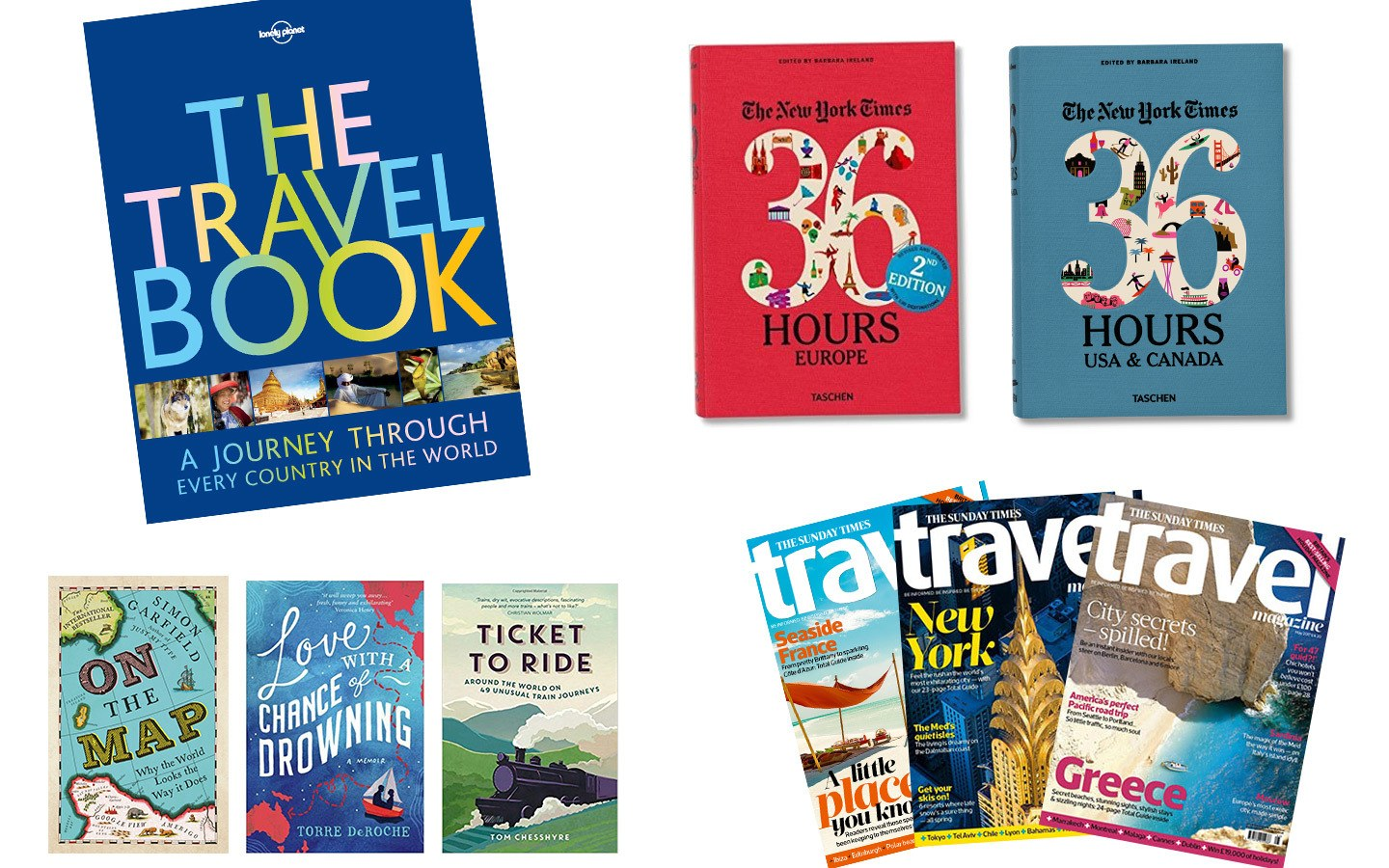Travel inspiration gifts for travel lovers