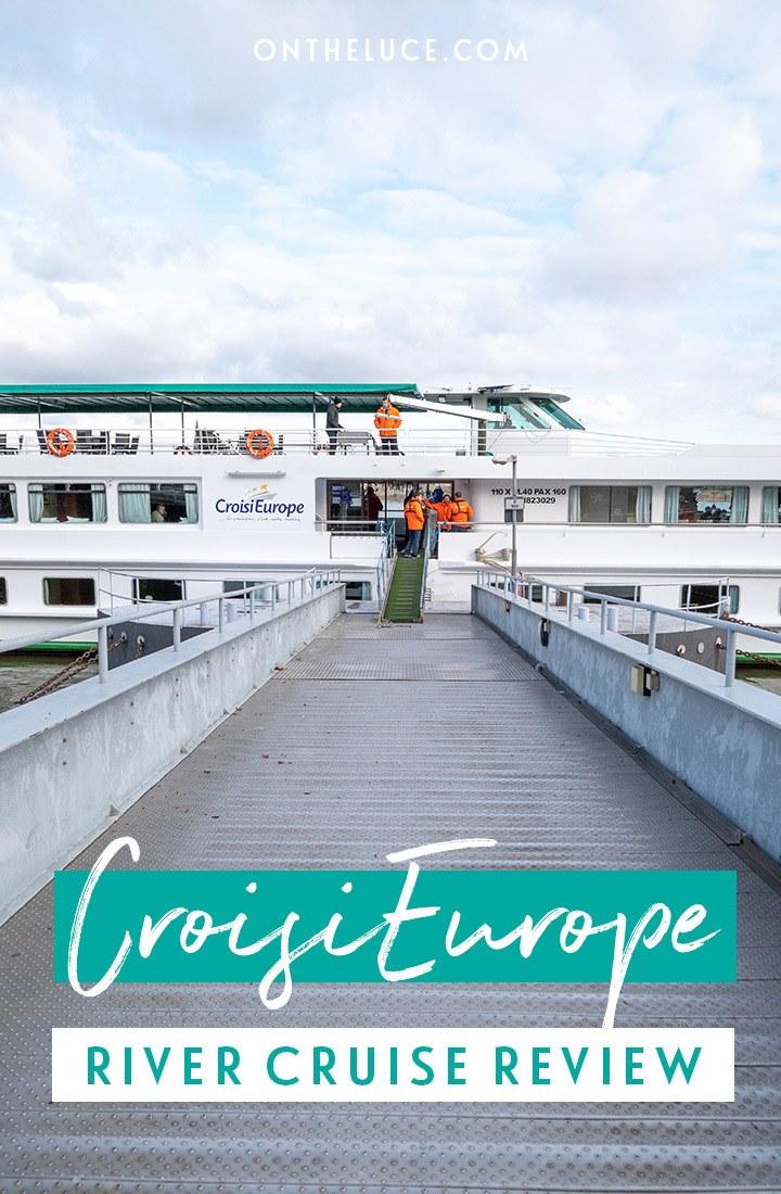 Everything you need to know about taking a CroisiEurope river cruise – a review of these affordable European river cruises, including food and drink, ship facilities and excursions. #cruise #rivercruise #CroisiEurope #cruisereview