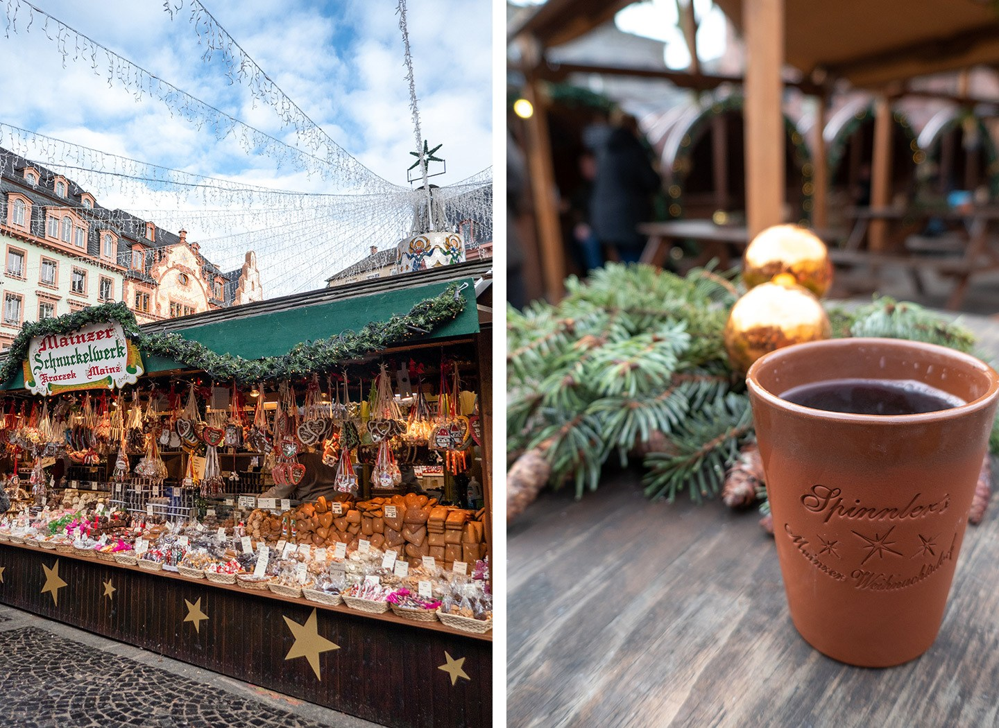 Mainz Christmas market, Germany