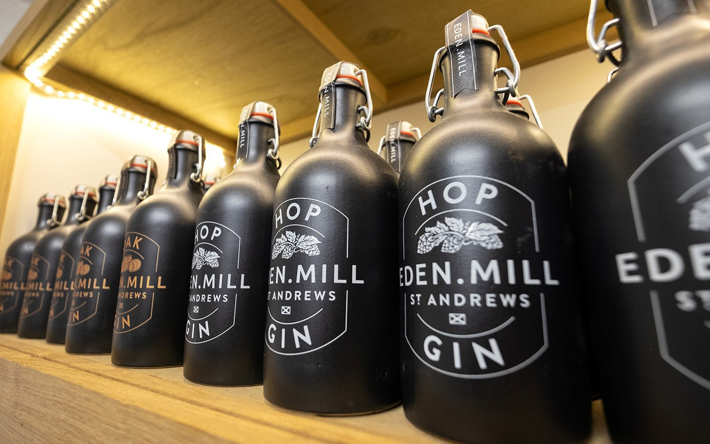The Eden Mill gin distillery tour in St Andrews