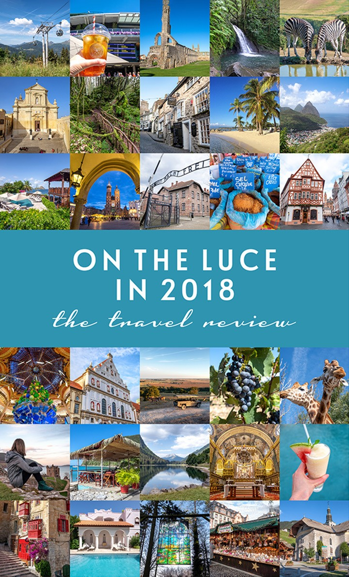 Travel highlights On the Luce in 2018, including Caribbean islands, a Kraków city break, sunny Malta and Gozo, a festive river cruise and much more. #2018 #travelreview