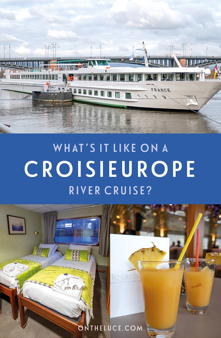 What's it like on board a CroisiEurope river cruise? A a review of these affordable European river cruises, including food and drink on board, ship facilities, excursions and what to pack #cruise #rivercruise #CroisiEurope #cruisereview
