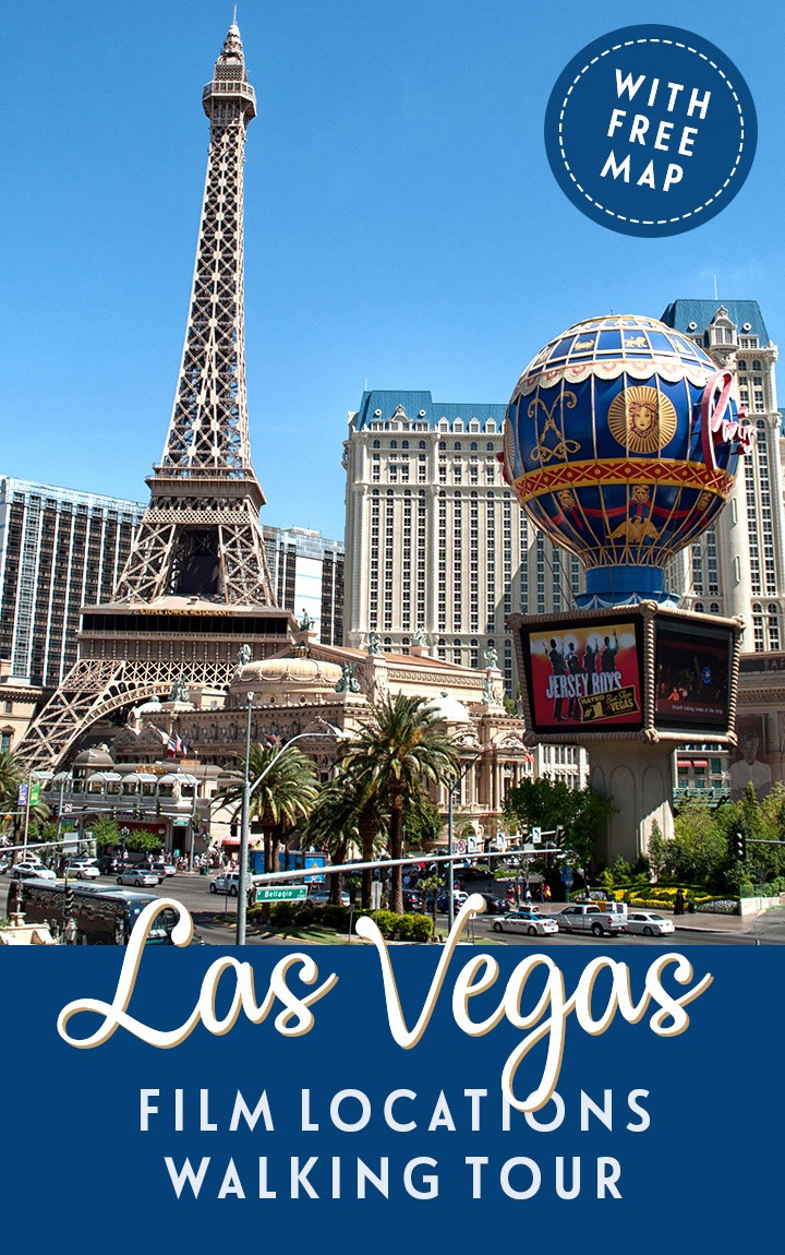 Follow in the footsteps of movie legends on this self-guided walking tour around some of Las Vegas' most iconic film locations, from the Bellagio to the Neon Museum | Las Vegas film locations | Las Vegas movie locations | Las Vegas self-guided tour | Things to do in Las Vegas