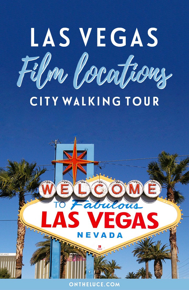 A Las Vegas film locations self-guided city walking tour featuring locations from iconic films such as Ocean's Eleven, The Hangover and Casino | Las Vegas film locations | Las Vegas movie locations | Las Vegas self-guided tour | Things to do in Las Vegas