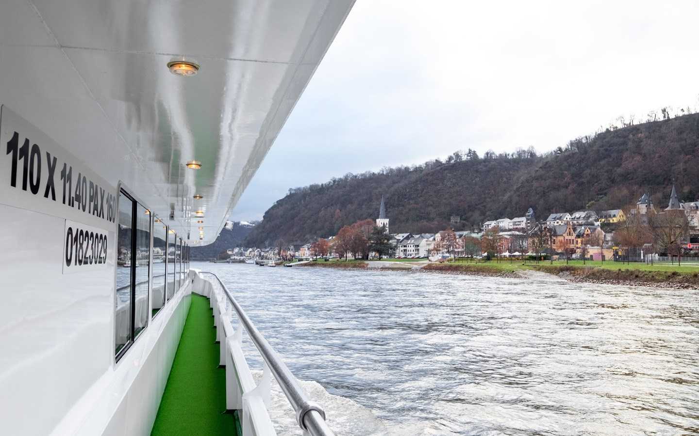 Croisieurope Rhine river cruise views
