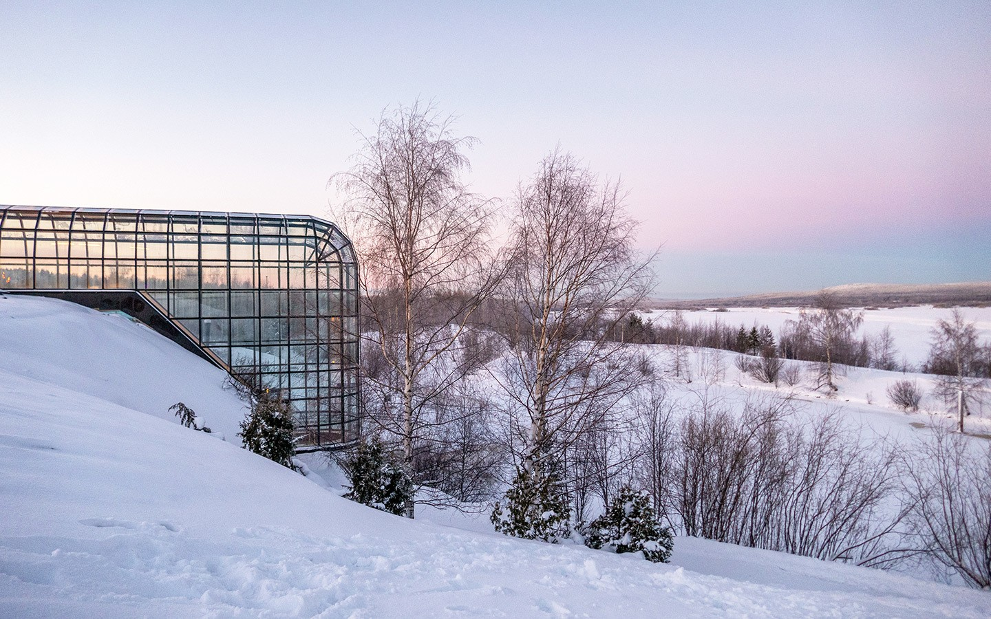 Arktikum Museum and Science Centre in Rovaniemi, Finland
