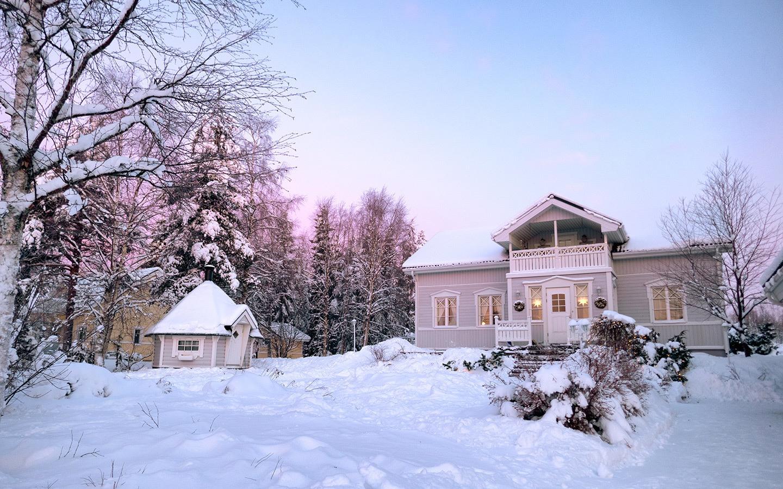 AirBnB rental house in Rovaniemi, Finland