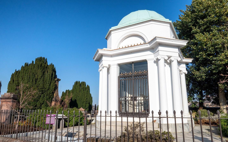 The Burns Mausoleum in Dumfries