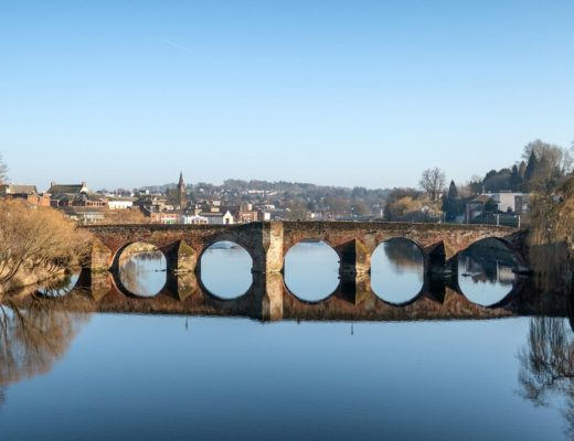 On the trail of Robert Burns in Dumfries, Scotland
