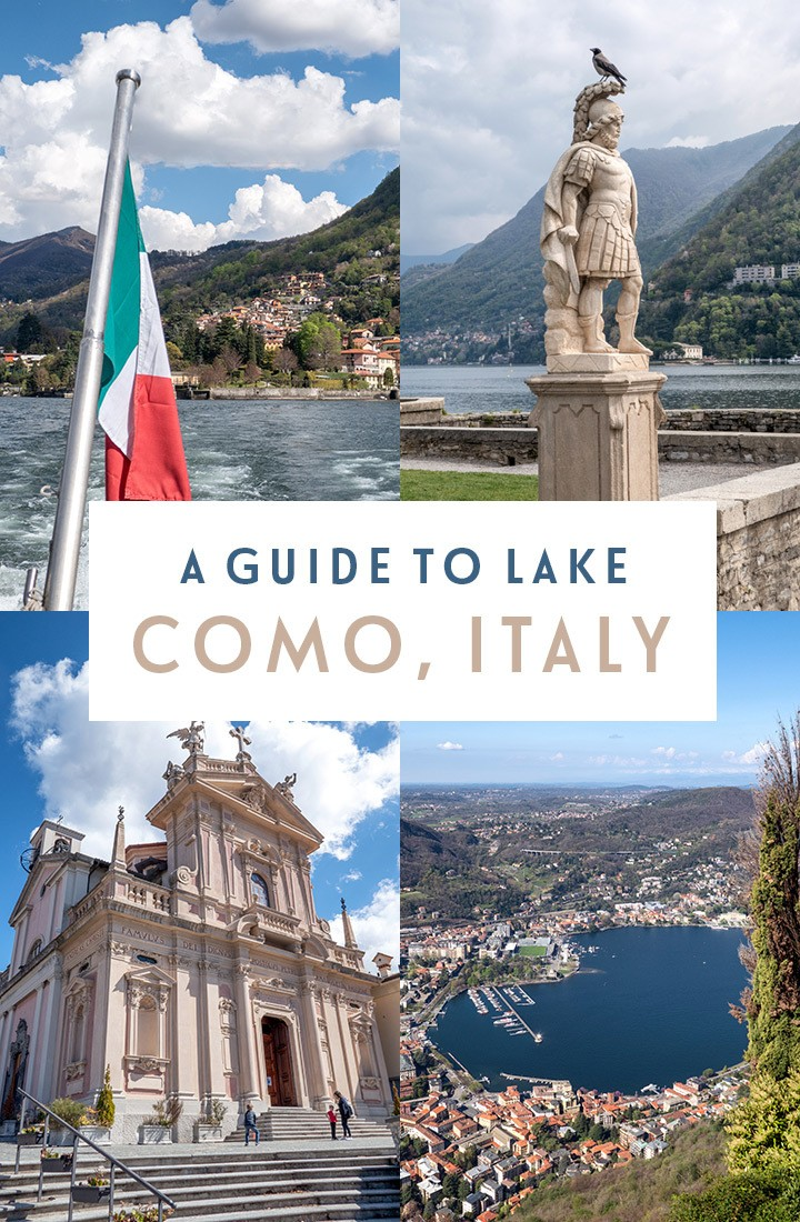 La Dolce Vita in the Italian Lakes: What to see and things to do in Como city on Italy's beautiful Lake Como #Como #LakeComo #Italy