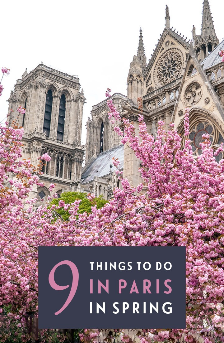 Paris in spring: 9 great things to do in Paris in springtime, including pastel blossoms, street markets, festivals and chocolate-fuelled Easter celebrations #Paris #France #spring #springtime