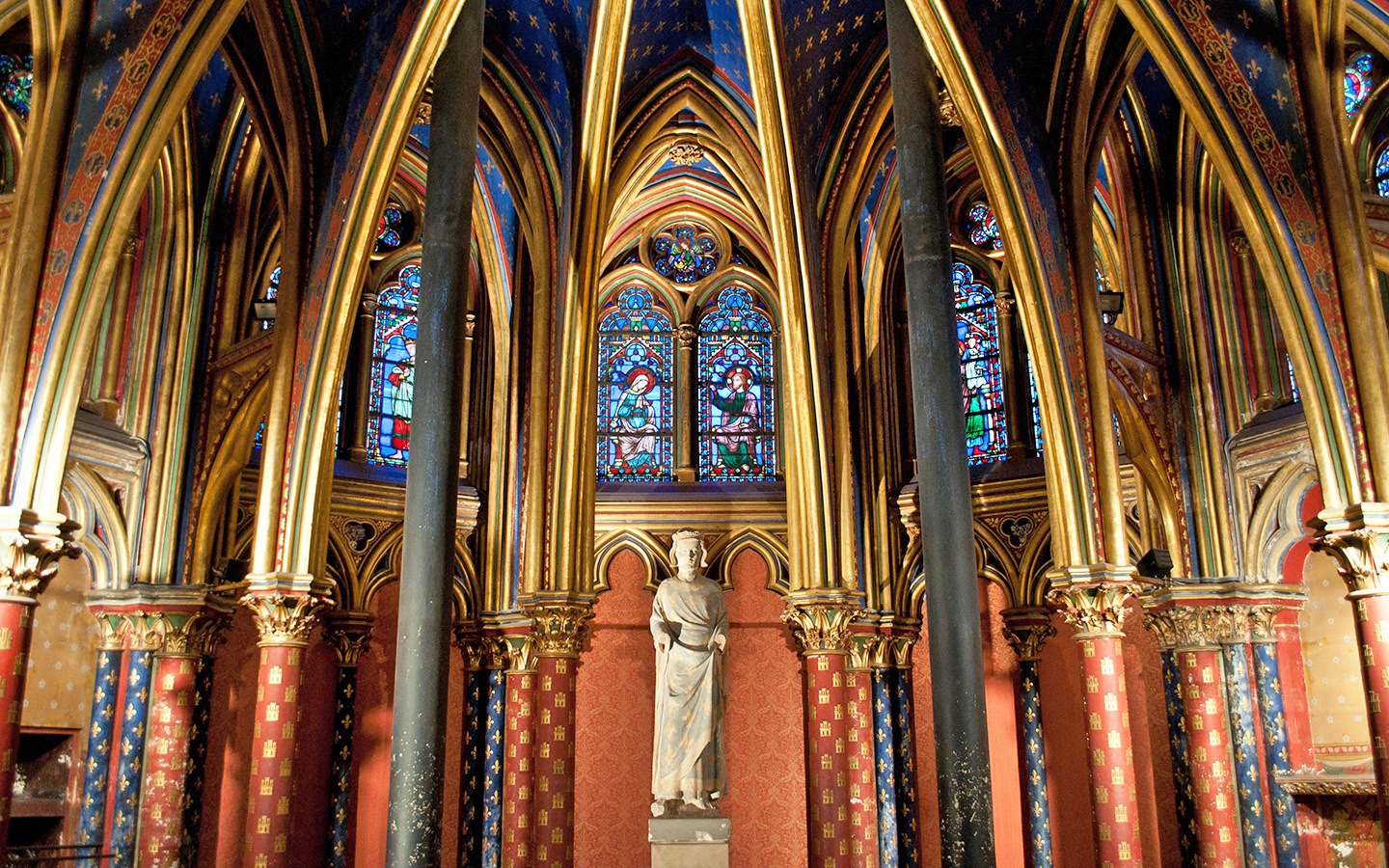 Sainte-Chapelle church in Paris